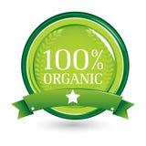 100 органическое иллюстрация штока