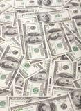 100 предпосылок доллара Стоковая Фотография RF
