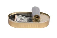 100 счетов доллара Стоковые Фотографии RF