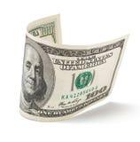 100 счетов доллара Стоковое Изображение RF