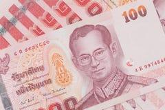100 тайских батов Стоковые Изображения RF