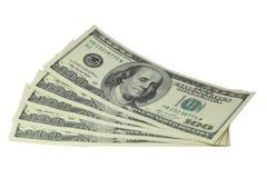100 долларов Стоковое Фото