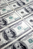 100 долларов franklin Стоковое Изображение