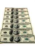 $100.00 Bills Stock Photos