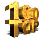 100顶层 免版税图库摄影