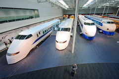 100 300个日本系列shinkansen 图库摄影