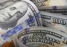 доллары счета 100 одних Стоковые Изображения