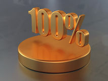 100 Στοκ εικόνα με δικαίωμα ελεύθερης χρήσης