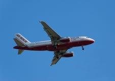 100 a319 Airbus zdjęcie royalty free