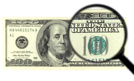 $100 banknote Royalty Free Stock Photography