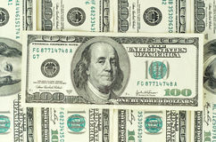 $100 banknotes Royalty Free Stock Photo