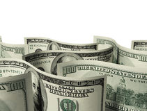 $100 banknotes background Stock Photography