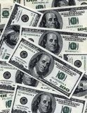 $100 banknotes background Royalty Free Stock Photos