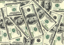 $100 banknotes background Royalty Free Stock Image
