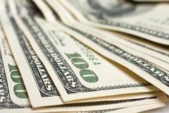 $100 billetes de banco Fotos de archivo