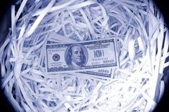100 billetes de banco de dólar americano Foto de archivo libre de regalías
