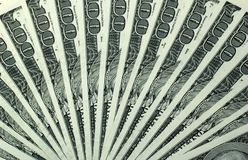 100 billetes de dólar Imagen de archivo libre de regalías