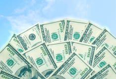 100 billets d'un dollar Photographie stock libre de droits