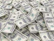 $100 billets d'un dollar Photos stock