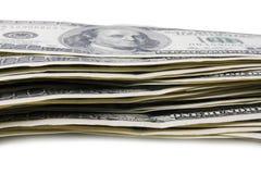 100 billets de banque Photo libre de droits