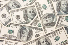 $100 bills background Royalty Free Stock Images