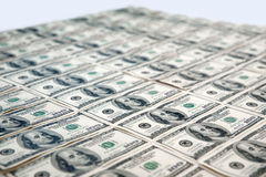 100 cento fatture del dollaro Immagine Stock