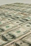 100 cientos cuentas de dólar Foto de archivo libre de regalías