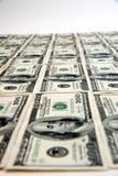 100 cientos cuentas de dólar Fotografía de archivo libre de regalías