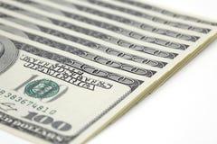 100 contas de dólar Fotos de Stock Royalty Free
