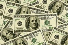 100 contas de dólar Fotografia de Stock Royalty Free