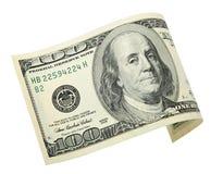 100 dólares Imagens de Stock