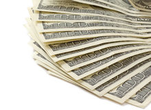 100 dólares Imagem de Stock Royalty Free