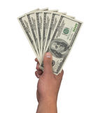 100 dólares Imagen de archivo