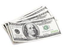 100 dólares Imagem de Stock