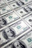100 dólares, Franklin Imagem de Stock