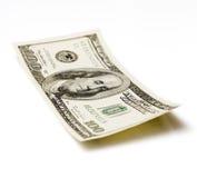 100 dólares Foto de Stock Royalty Free
