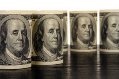 100 dolarów Zdjęcia Stock