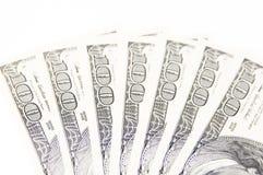 100 dolarowy rachunek Zdjęcie Royalty Free