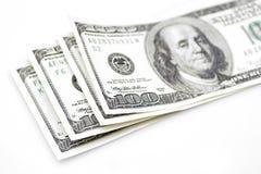 100 dolars Fotografia Stock
