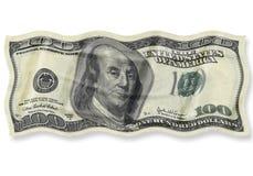100 Dollar Stockfotografie