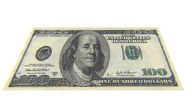 100 Dollar Lizenzfreie Stockfotografie