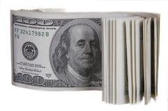 100 Dollar Lizenzfreies Stockbild