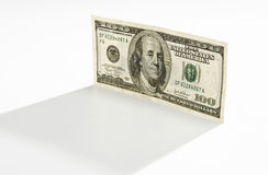 100 dollar bill Stock Photo