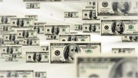 100 dollar bill flying, stock footage stock video footage