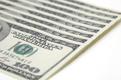 100 dollar bills Royalty Free Stock Photos