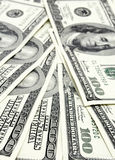100 dollar notes Royalty Free Stock Photos