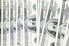 100 dollarBills Arkivbild