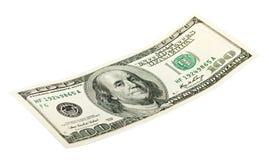100 dollari Fotografia Stock Libera da Diritti