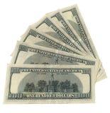100 dollari Immagine Stock Libera da Diritti