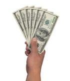 100 dollari Immagine Stock